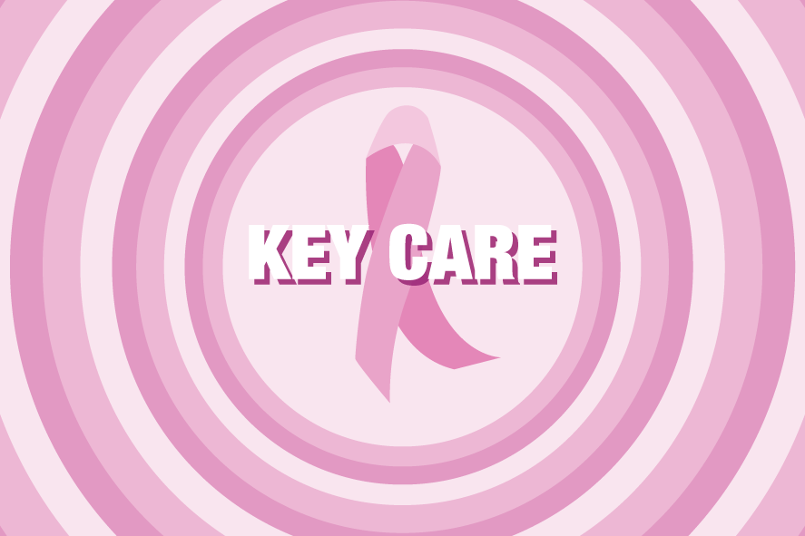 Key Care Rosa Bandet