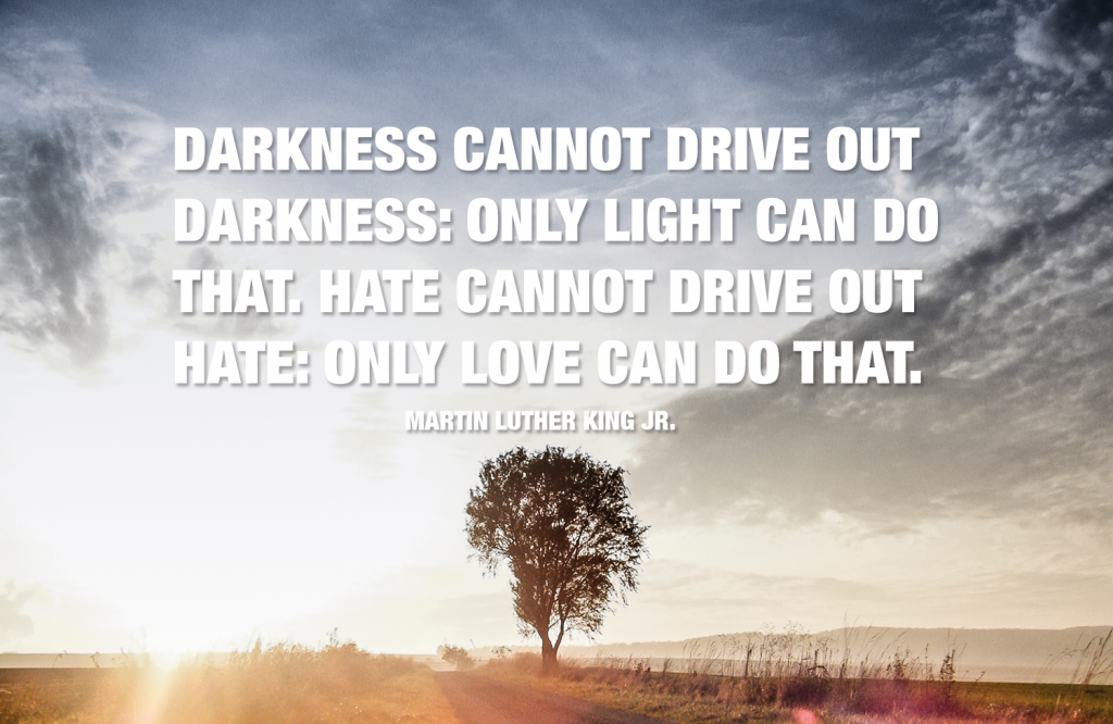 Darkness cannot