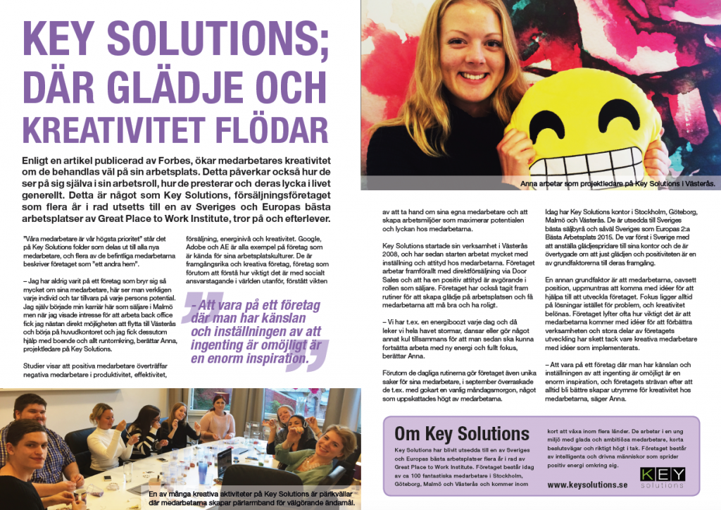 Kreativitet Key Solutions